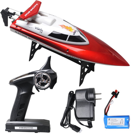 5. 4 CH Wireless Power High Speed RC Boat by ToyJoy
