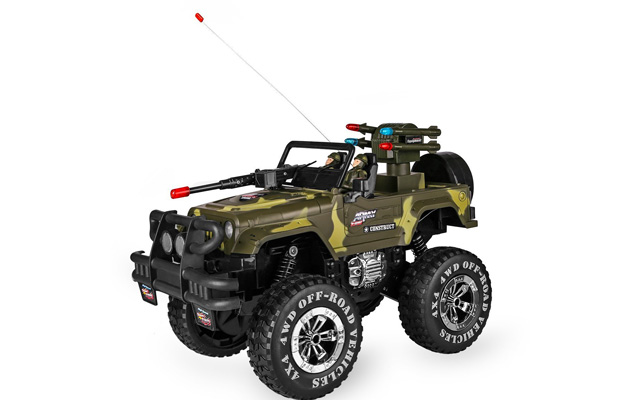 7. SZJJX 1:10 Remote Control Car 4WD Shaft Drive Truck