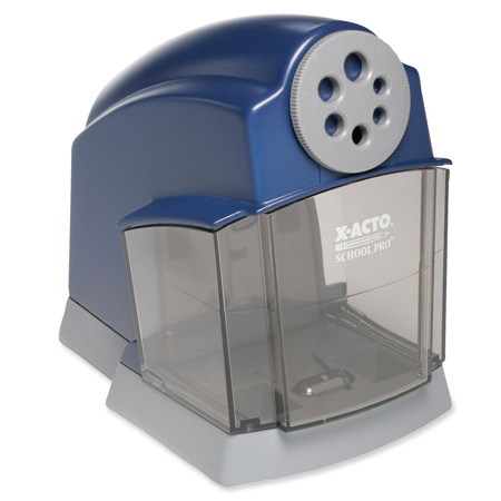 2. X-ACTO SchoolPro Classroom Electric Pencil Sharpener