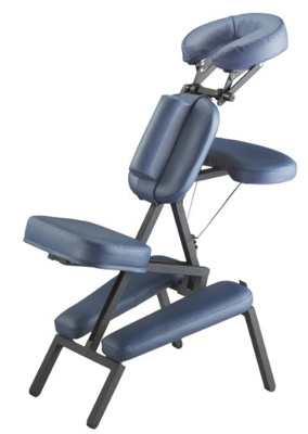 4. Master Massage Professional Portable Massage Chair, Blue
