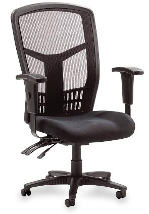 8. Lorell Executive High-Back Chair, Mesh Fabric, 28-1/2