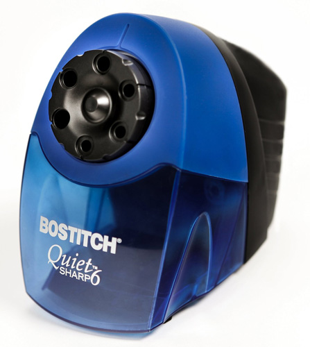 9. Bostitch QuietSharp 6 Classroom Electric Pencil Sharpener
