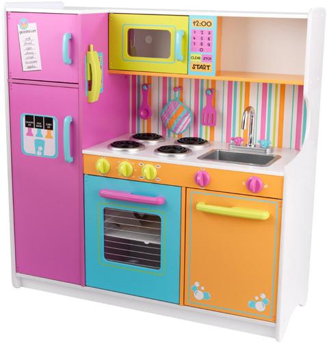 8.) KidKraft Deluxe Big & Bright Kitchen