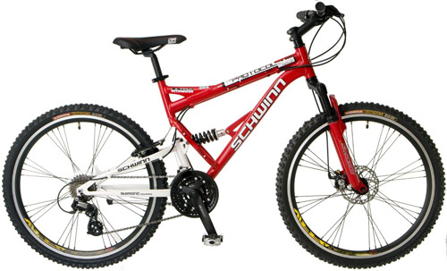 8. Protocol 1.0 Men's Dual-Suspension Mountain Bike by Schwinn