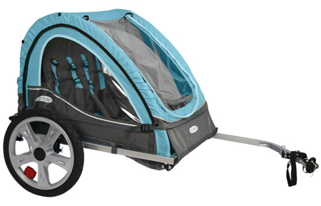 1. InSTEP Take 2 Double Bicycle Trailer, bike trailers for kids
