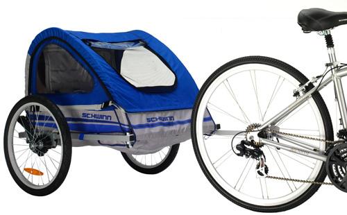 4. Schwinn Trailblazer Double Bicycle Trailer