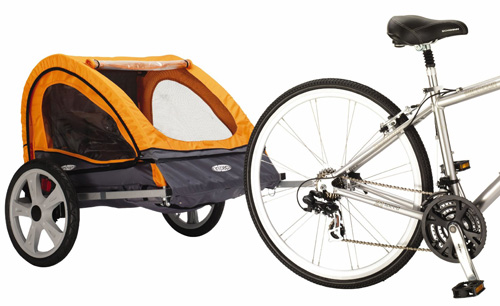 2. InStep Quick N EZ Double Bicycle Trailer