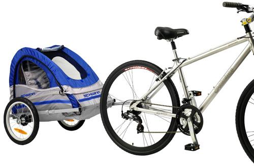 7. Schwinn Trailnblazer Single Bike Trailer