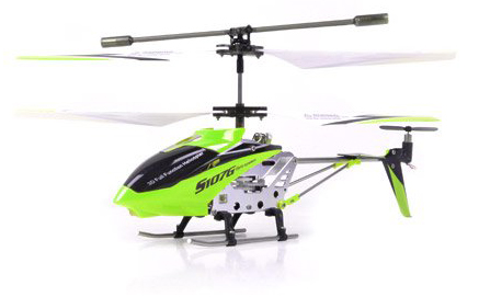 2. Syma S107G 3 Channel RC Radio Remote Control Helicopter