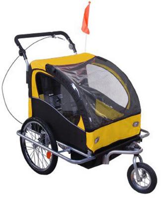 5. Aosom Elite II 3in1 Double Child Bike Trailer