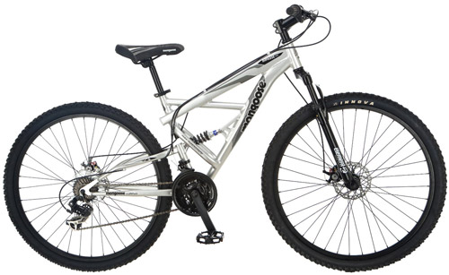 3. Impasse Dual Full Suspension Bicycle by Mongoose