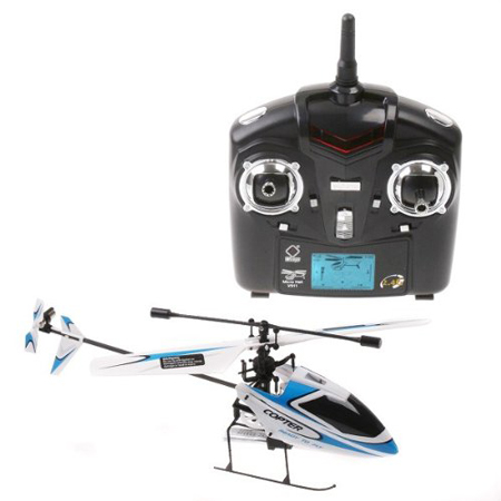 7. 4CH 2.4GHz Mini Radio Single Propeller RC Helicopter