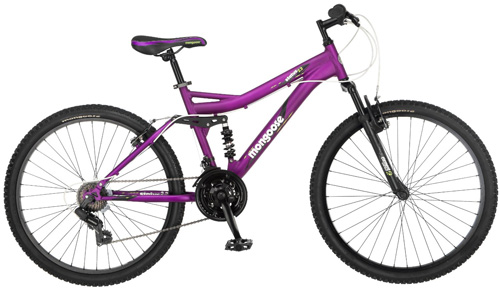 2. Women's Status 2.2 Full Suspension Bicycle by Mongoose