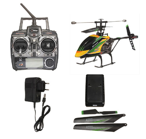 8. WLtoys Large V912 4CH Single Blade RC Remote Control Helicopter