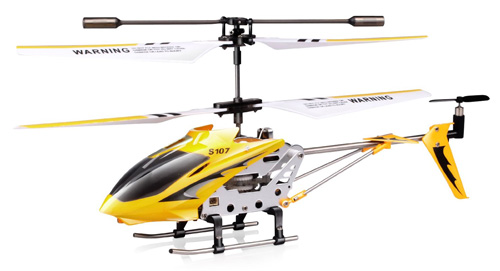 6. Syma S107/S107G 3 Channel RC Heli with Gyro