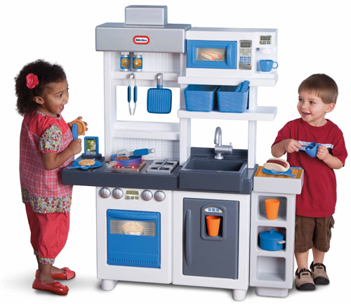 10. Little Tikes Ultimate Cook KitchenIncludes approx. 38 pieces (Made in USA)