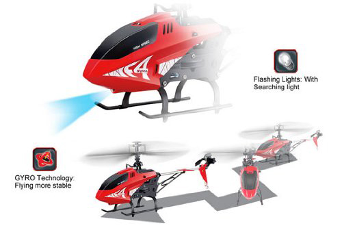 10. Syma F4 2.4GHz 3-Channel Remote Control Helicopter