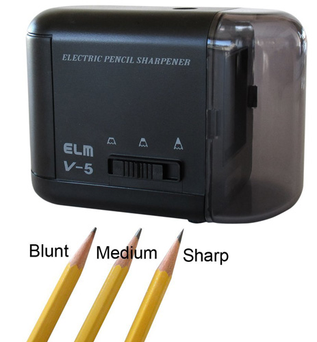 7. OfficeGoods Electric & Battery Operated Pencil Sharpener