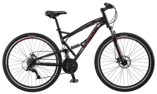 "1. S29 Men's 29"" Wheel Full Suspension Mountain Bike by Schwinn"