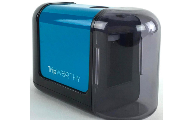 1. TripWorthy electric pencil sharpener