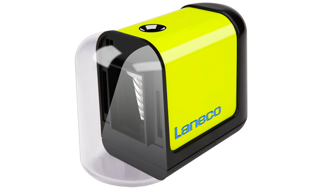 8. Laneco Battery Operated Heavy Duty Helical Blade Pencil Sharpener