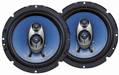 9. Pyle PL63BL 6.5-Inch 360-Watt 3-Way Speakers (Pair)