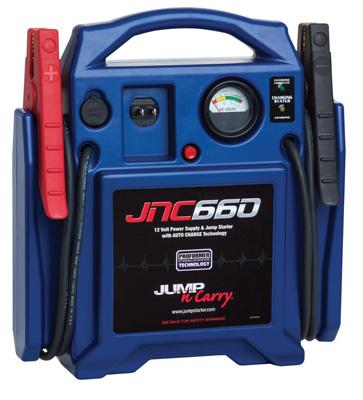 9. Jump-N-Carry JNC660 1700 Peak Amp 12-Volt Jump Starter