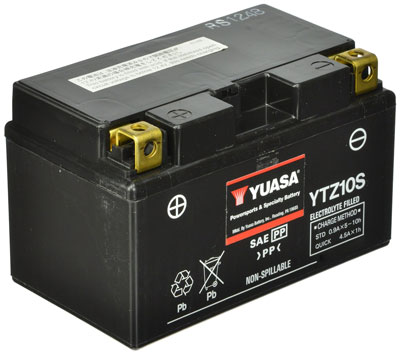 10.Yuasa YTZ10S Battery