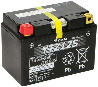 5. Yuasa YUAM7212A YTZ12S Battery