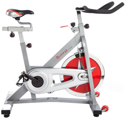 3. Sunny Health & Fitness Pro Indoor Cycling Bike