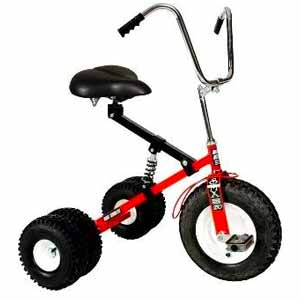 9. Adult Tricycle (Red)
