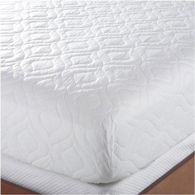 5. Bedsack Classic White Full Size Mattress Pad
