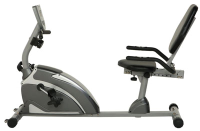 2. Exerpeutic 900XL Extended Capacity Recumbent Bike with Pulse