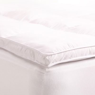 6. Grand Down All Season Down Alternative Queen Mattress Topper