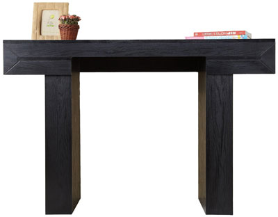 2. Furniture of America Marqus Modern Console/Sofa Table, Black