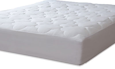 6. Micropuff Queen Sized Down Alternative Mattress Pad