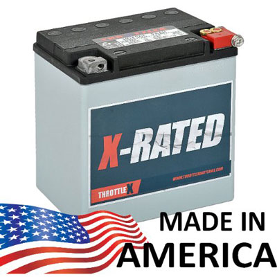7. ThrottleX Batteries - HDX30L - Harley Davidson Replacement Motorcycle Battery