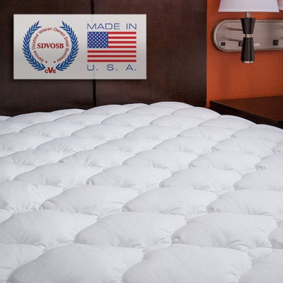 10. ExceptionalShe Queen Sized Fitted Mattress Pad