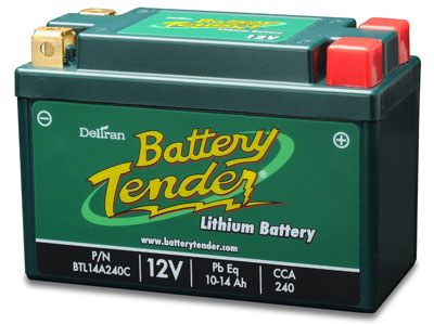 9. Battery Tender BTL14A240C Lithium Iron Phosphate Battery