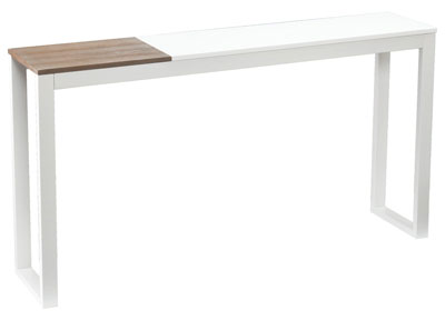9. Holly and Martin Lydock Console Table, White
