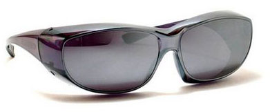 8. Silver Mirror Sun Shield Sunglasses Prescription Glasses