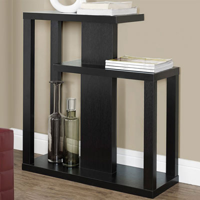 8. Monarch Specialties Staggered Console Table, Best Modern Contemporary Console Tables
