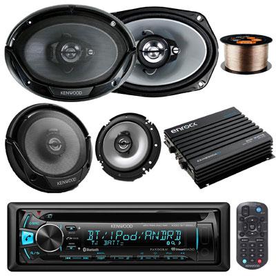 5. New Kenwood KDC-BT362U Car CD MP3 Receiver