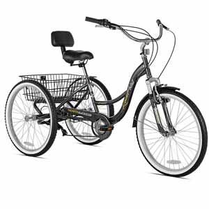 4. Northwoods Rock Point Adult Trike, 24-Inch