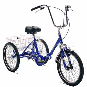 10. Kent Adult Westport Folding Tricycle