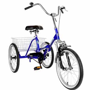 6. Mantis Tri-Rad Folding Adult Tricycle