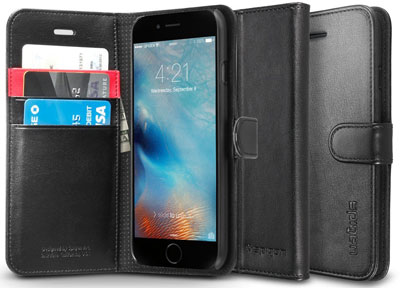 7. Premium Wallet Case with STAND Flip Cover