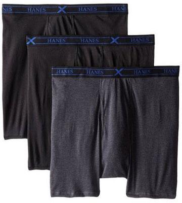 2. Hanes Men's Ultimate X-Temp Boxer Briefs