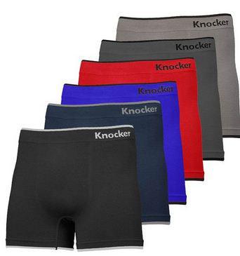 5. Men's Seamless Boxer Brief Stretchable Underwear