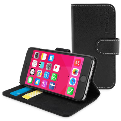 8. Snugg™ Stylish Leather Wallet Cover Case